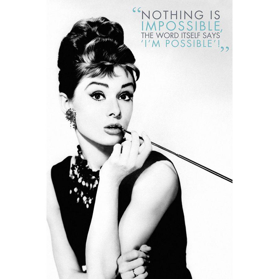 Audrey Hepburn Poster \