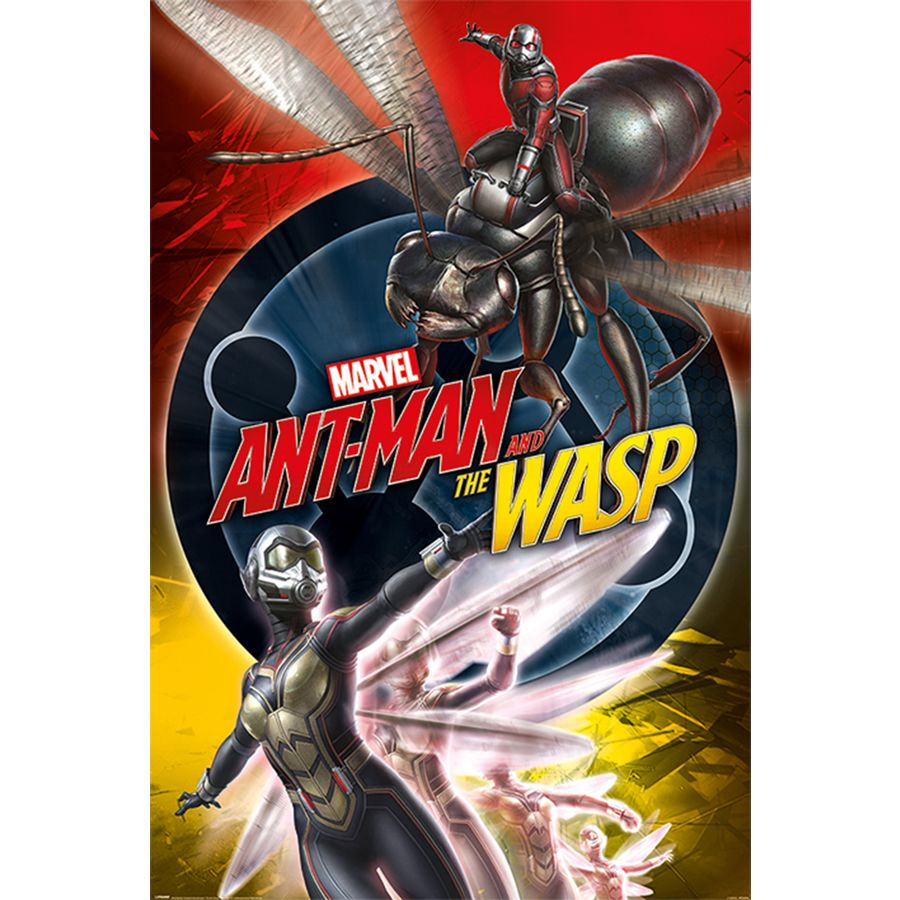 Ant Man And The Wasp Poster Unite Posters Buy Now In The Shop