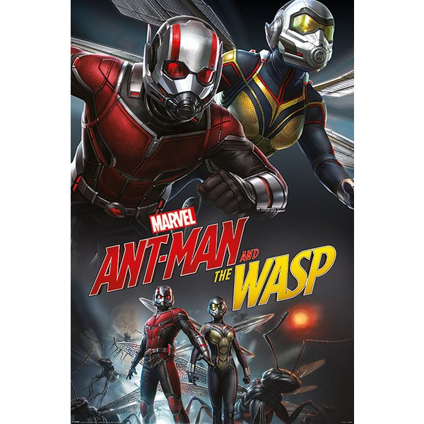 Ant Man And The Wasp Poster Dynamic Posters Buy Now In The Shop