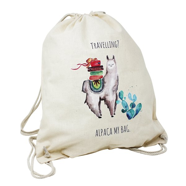 Alpaca Gym Bag,