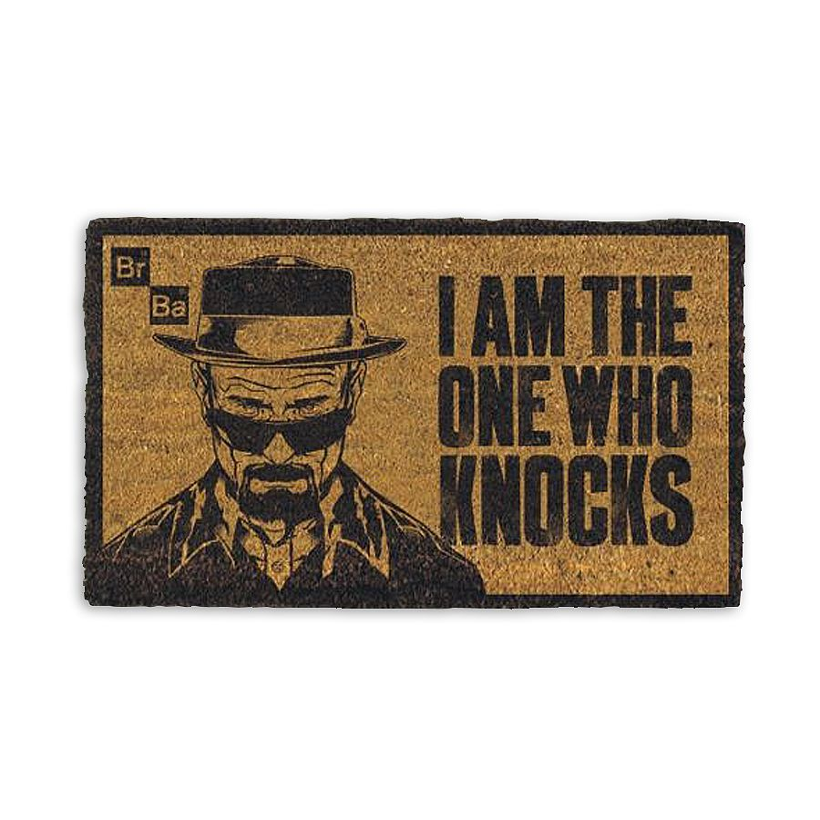 Breaking Bad doormat I am the one who knocks