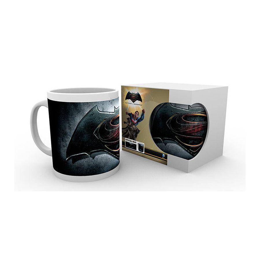Batman vs Superman Tasse Logo alternativ