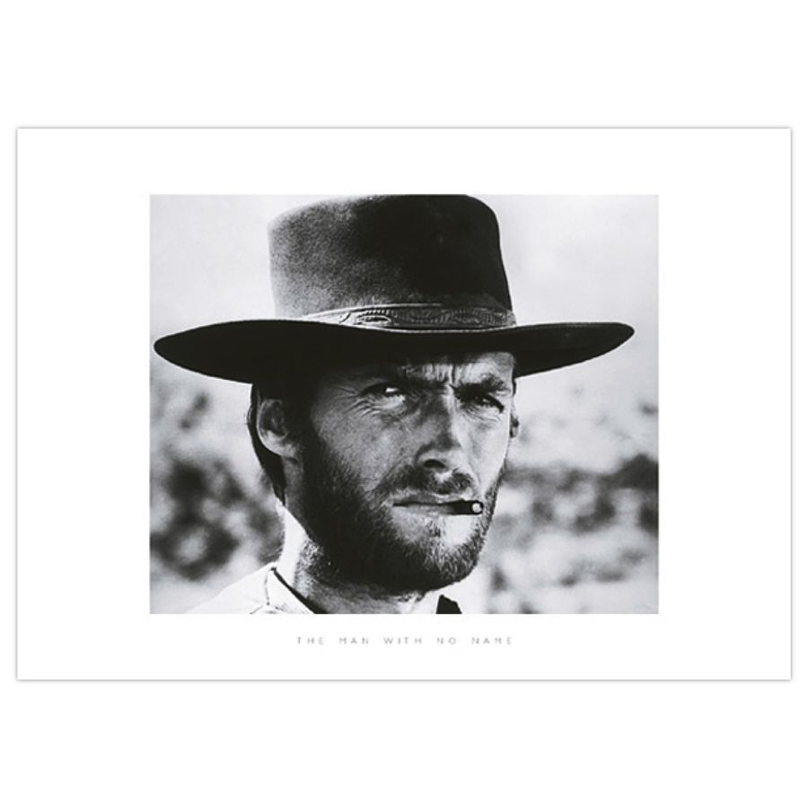 CLINT EASTWOOD THE GOOD, THE BAD AND THE UGLY POSTER (ART