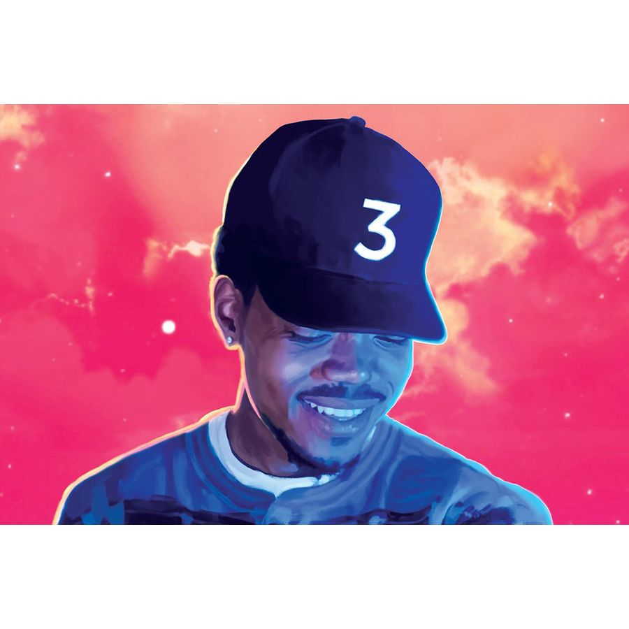 69ab9071 Chance the Rapper Poster Colouring Book - Posters buy now in the ...
