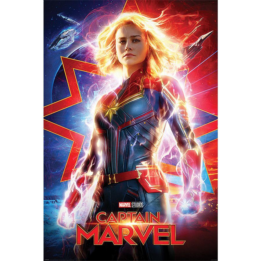 「captain marvel poster」の画像検索結果