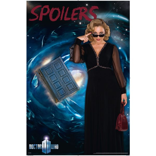 Doctor Who Poster Spoilers