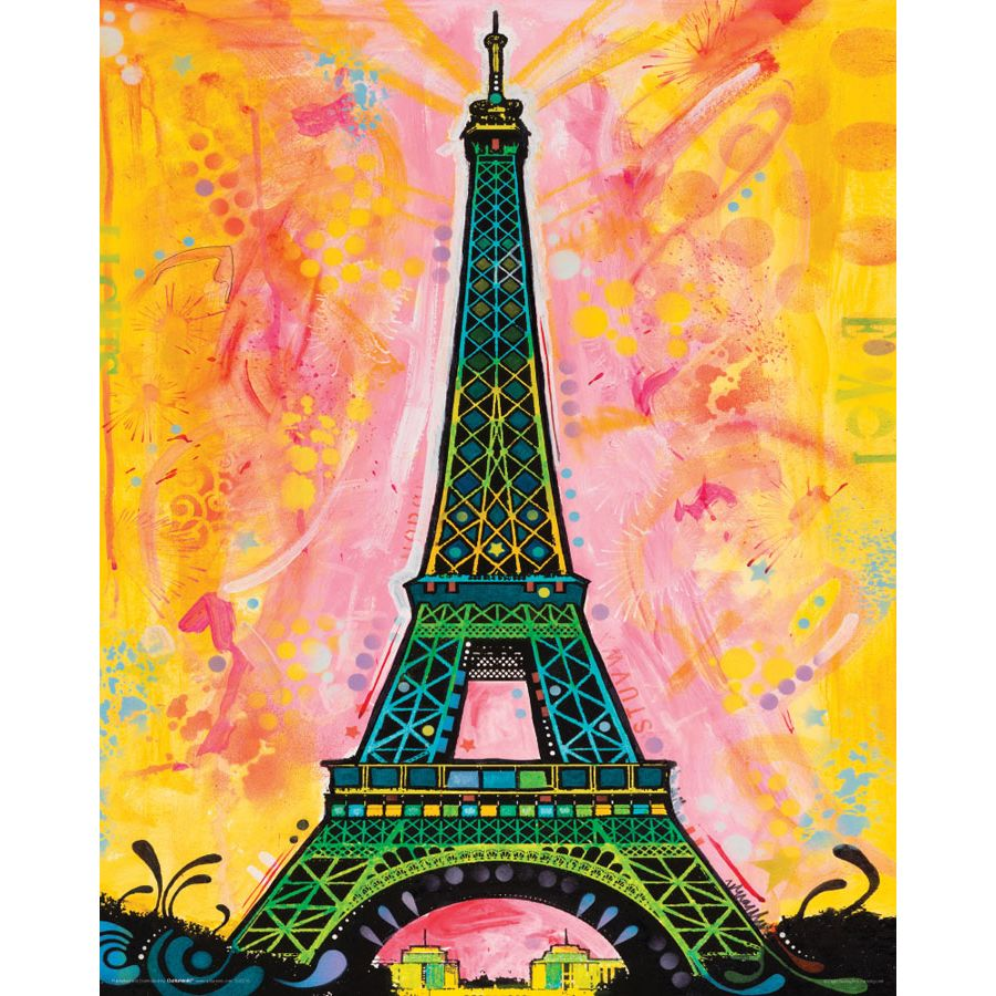 Dean russo poster paris pop art small posters buy now in for Buy art posters online