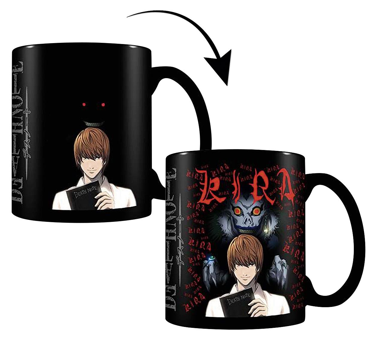Mug thermo-réactif Kira Pyramid Death Note