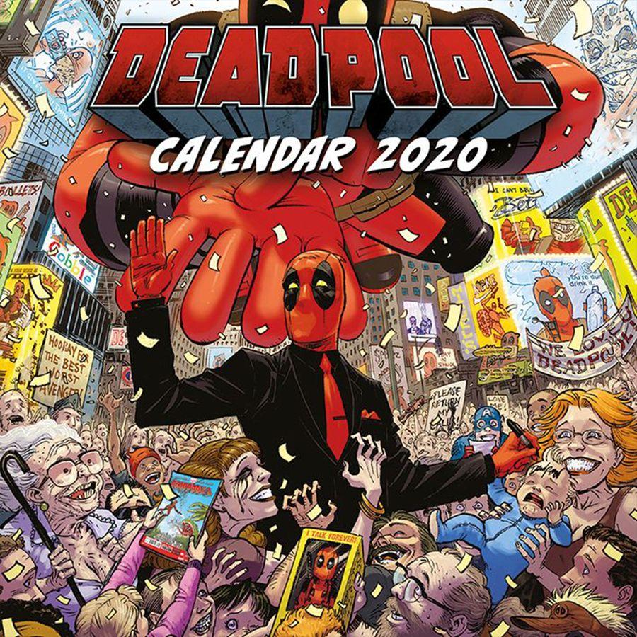 Calendrier Destiny 2.Deadpool Calendar 2020