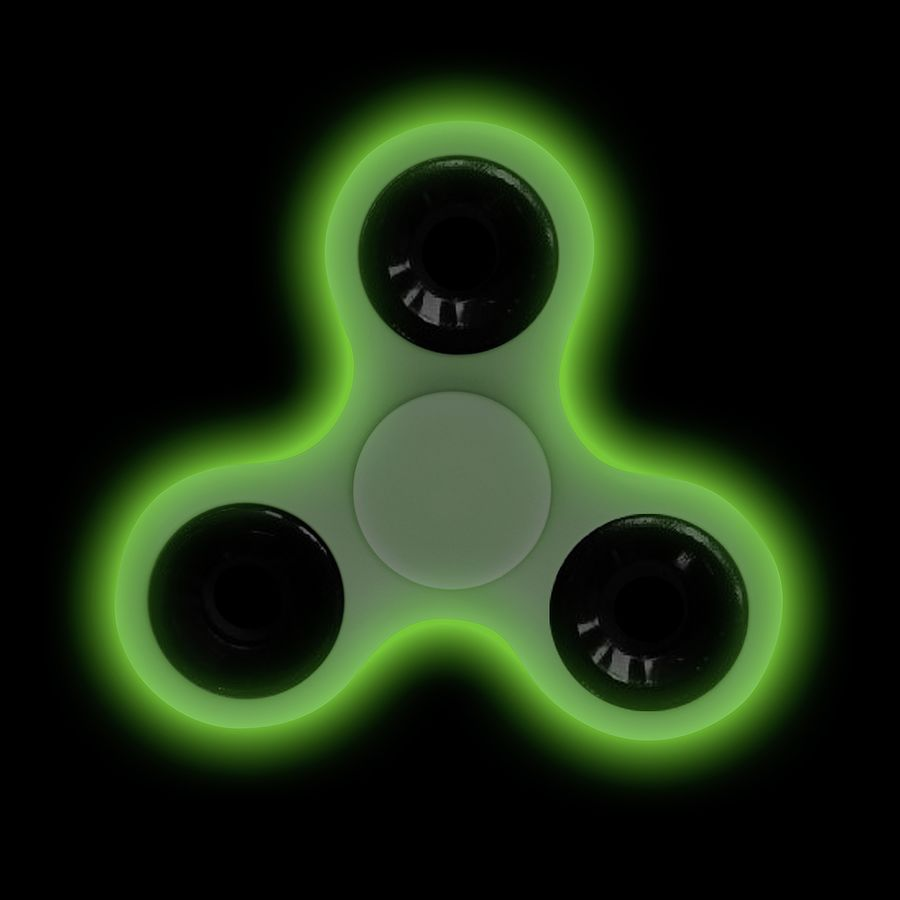 Finger Spinner Glow In The