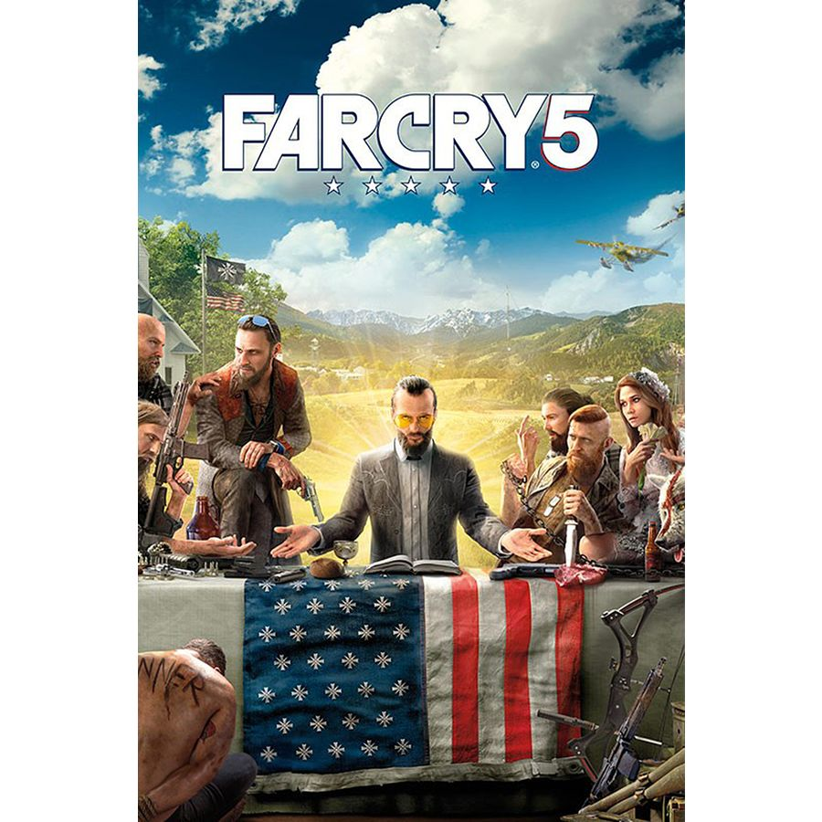 Far Cry 5 Poster Teaser - Posters buy now in the shop Close Up GmbH