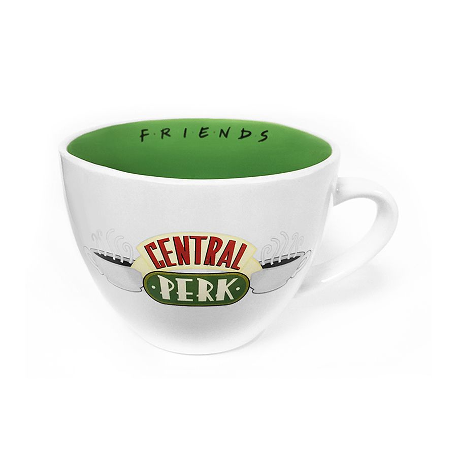 Friends Jumbo Coffee Mug 22 Oz Central Perk Glasses