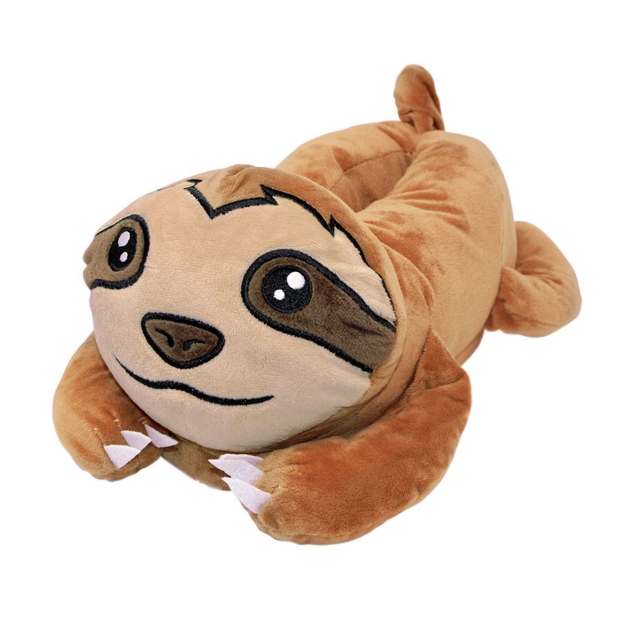 sloth plush slippers merchandise buy now in the shop. Black Bedroom Furniture Sets. Home Design Ideas