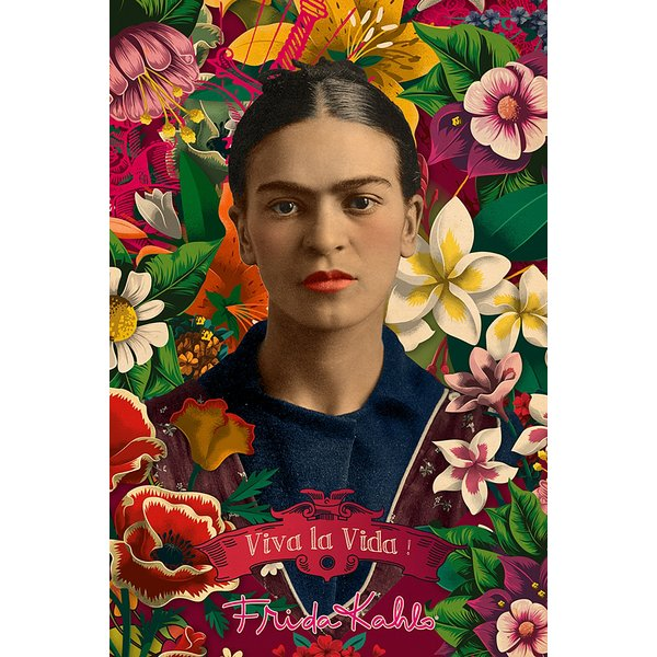 Frida Kahlo Poster Collage