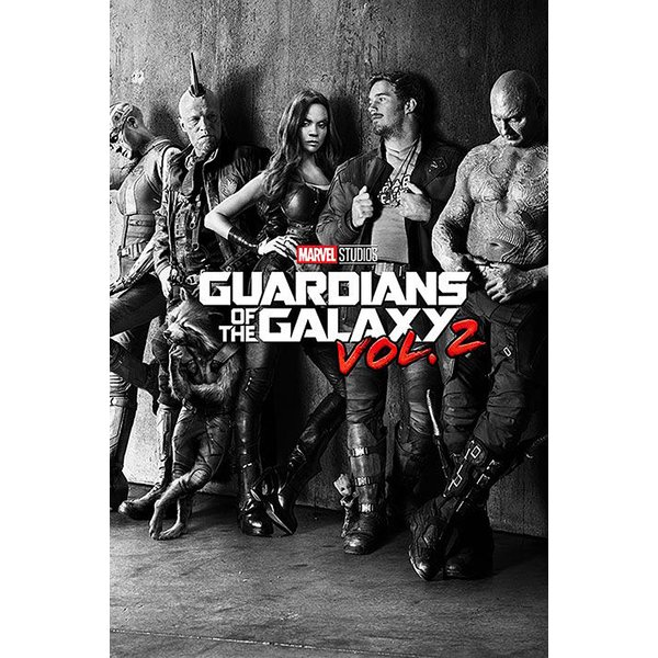 Marvel Guardians of the Galaxy Vol. 2 Poster -
