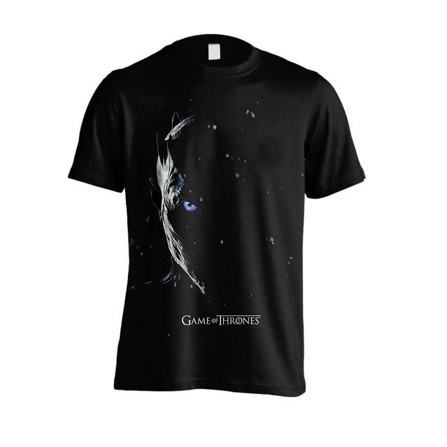 Night King Game Of Thrones T Shirt: Game Of Thrones T-Shirt Night King