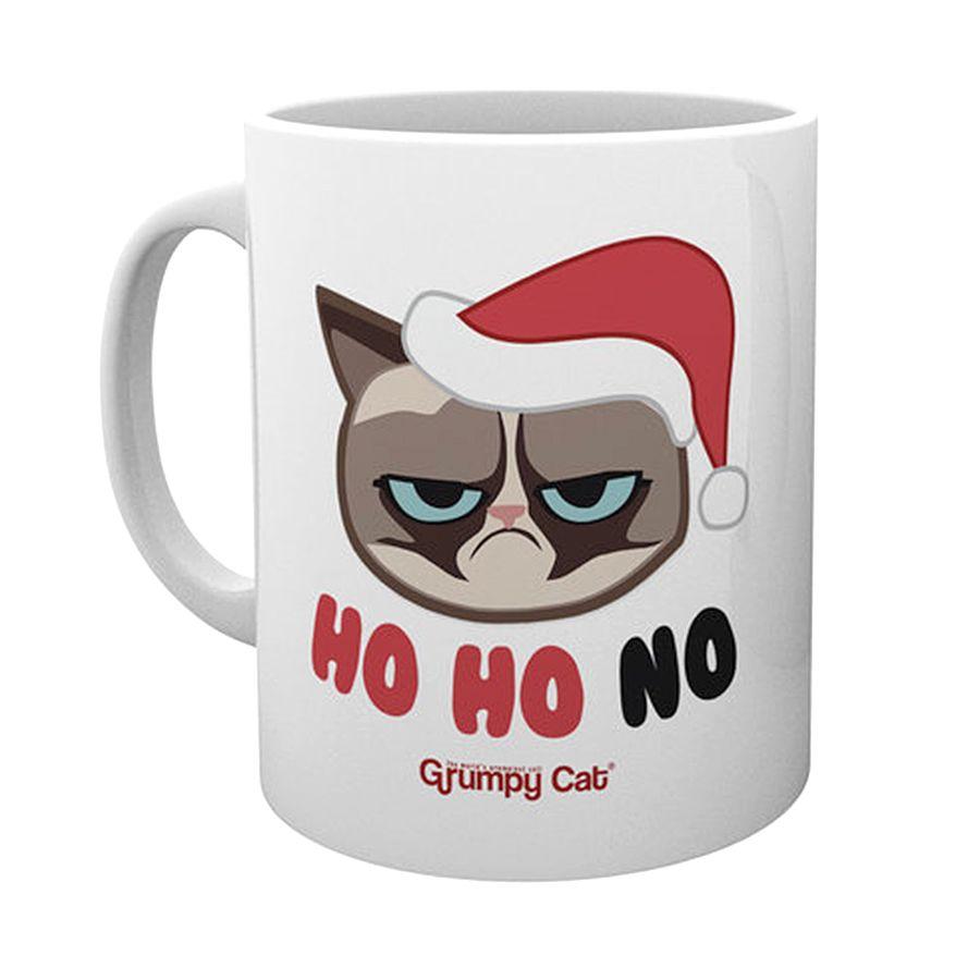 Ho Ho No Grumpy Cat Mug