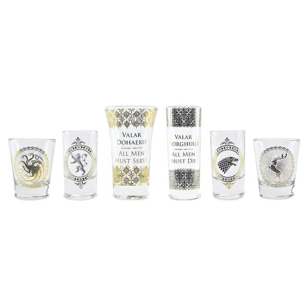Game of Thrones Glass set of 6