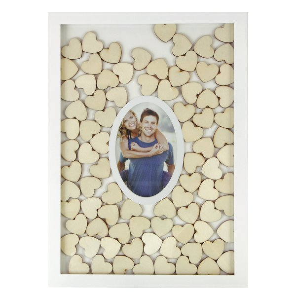 Guestbook in a frame with