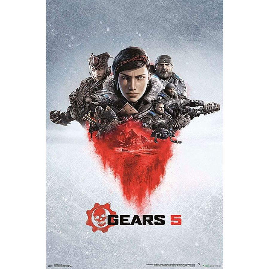 Gears Of War Poster Gears 5 Key Art - Posters buy now in the