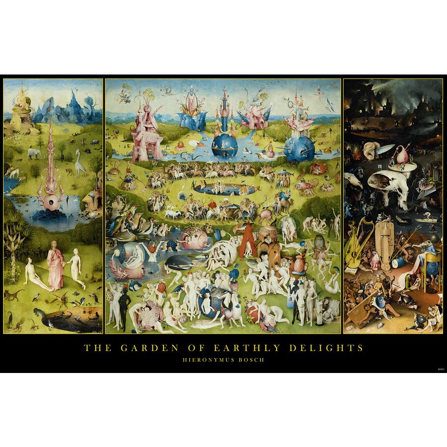 Garden Of Earthly Delights Poster