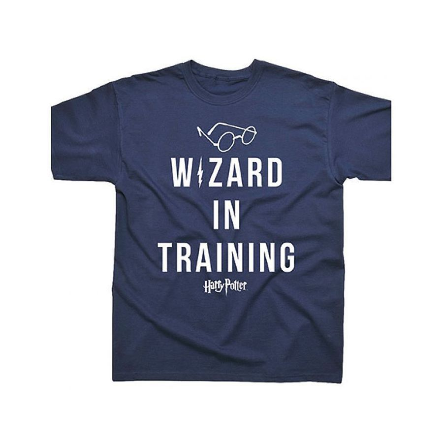 kids t shirt harry potter wizard in training on close up. Black Bedroom Furniture Sets. Home Design Ideas