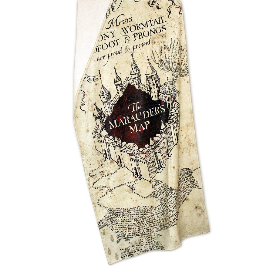 Dish Towel Synonym: Harry Potter XL Handtuch - Karte Des Rumtreibers