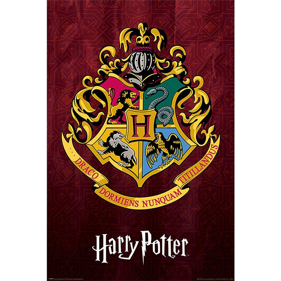 Harry Potter Poster Hogwarts School Crest