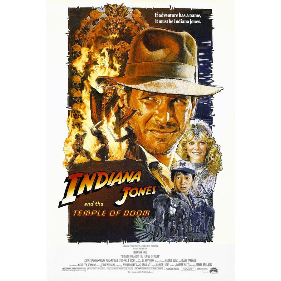 Indiana Jones Poster 68,5 x 101,5 cm