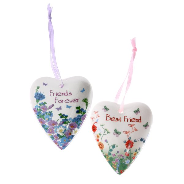 "Ceramic heart ""Friendship"""