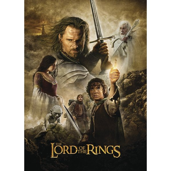 Lord of the rings 3D Poster