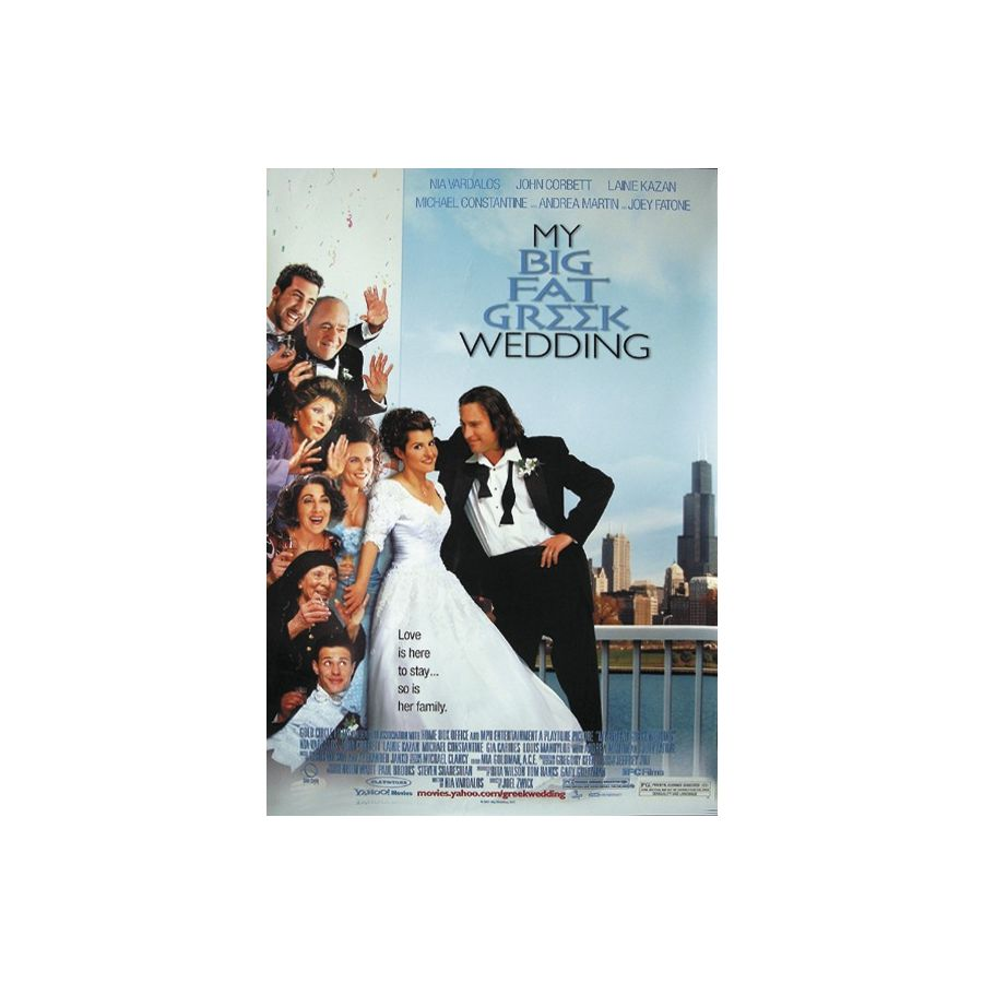 My Big Fat Greek Wedding Poster Posters Buy Now In The Shop Close Up Gmbh