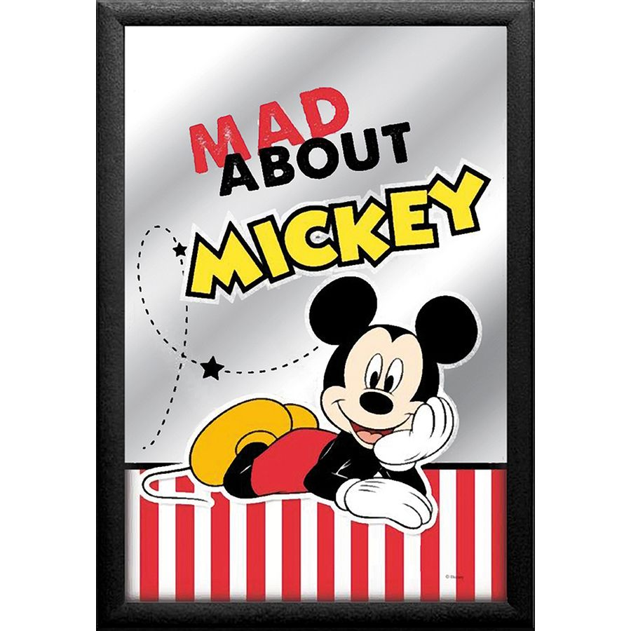 Mickey Mouse Spiegel.Mickey Mouse Mirror