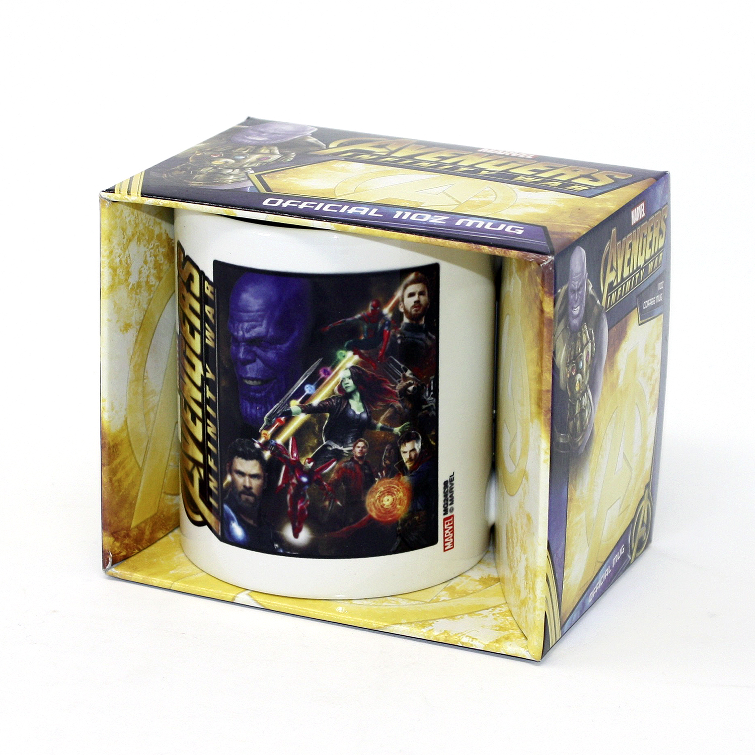 4e910c607 Marvel Avengers Infinity War Mug Space Montage - Glasses, Mugs, Bowls buy  now in the shop Close Up GmbH