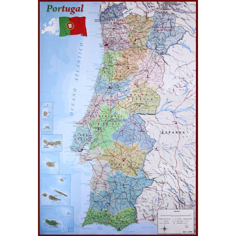 mapa-de-portugal - Photos