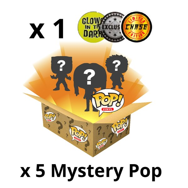Mystery Box Funky! Incl. Chase