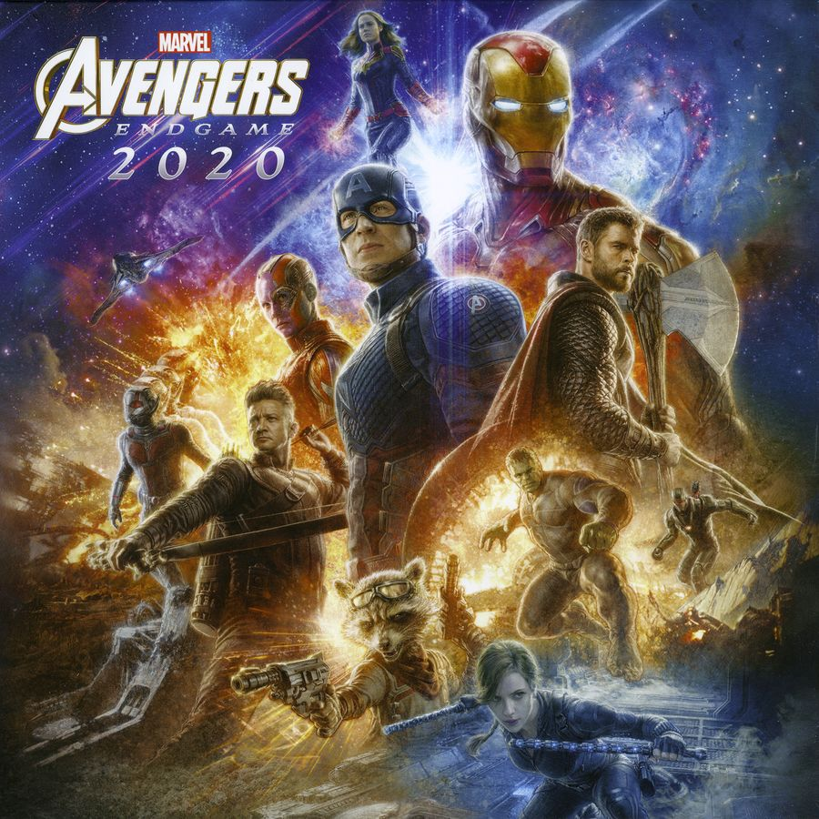 Games Coming Out In September 2020.Marvel Calendar 2020 Avengers Endgame Calendars Buy Now In