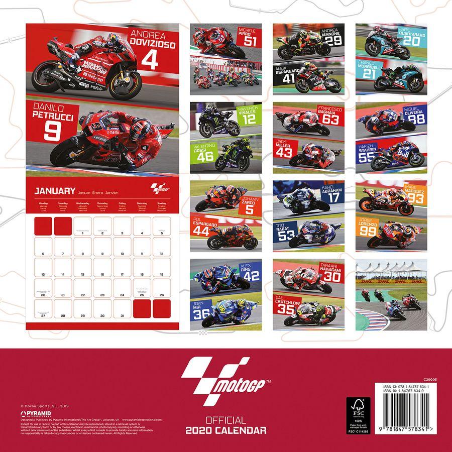 Moto GP Calendar 2020