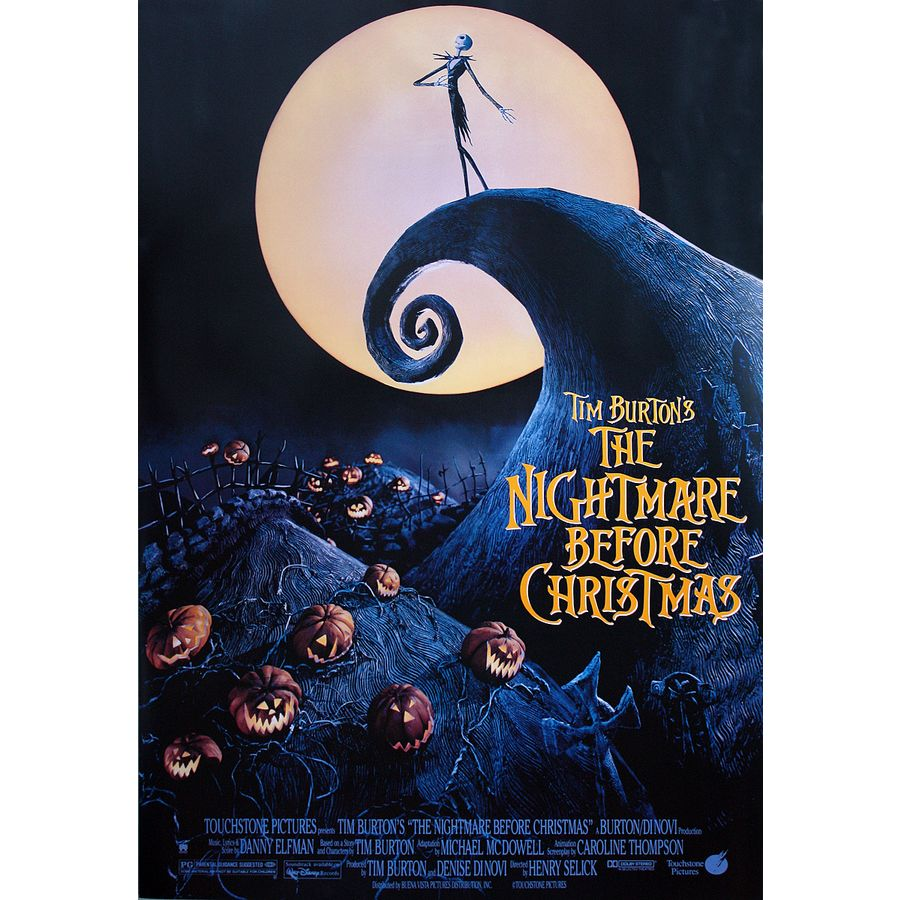 Nightmare Before Christmas Poster - Posters buy now in the shop ...