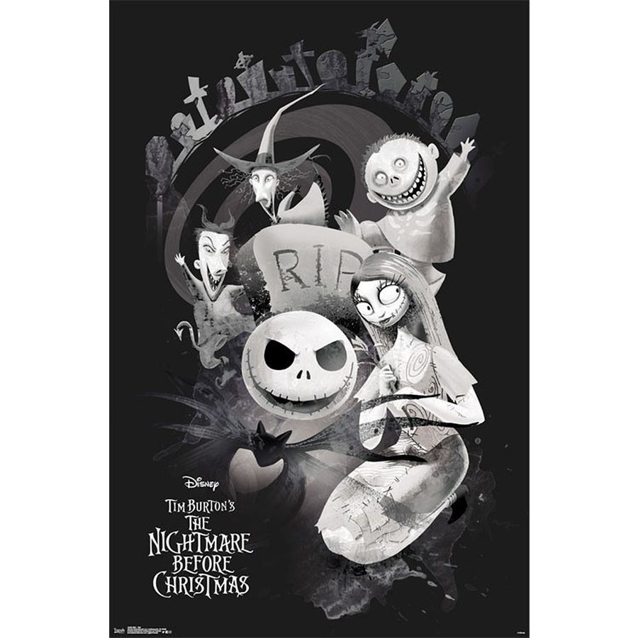 Nightmare Before Christmas RIP - Posters buy now in the shop Close ...