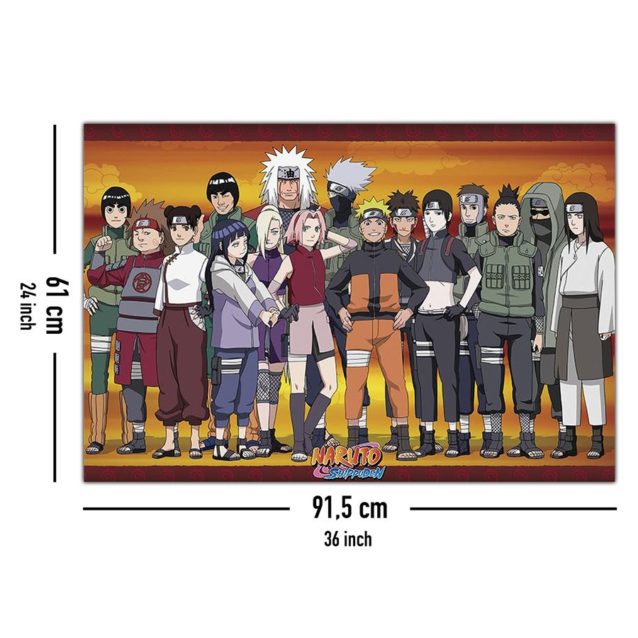 Naruto Shippuden Poster Konoha Ninjas Posters Buy Now In The Shop Close Up Gmbh