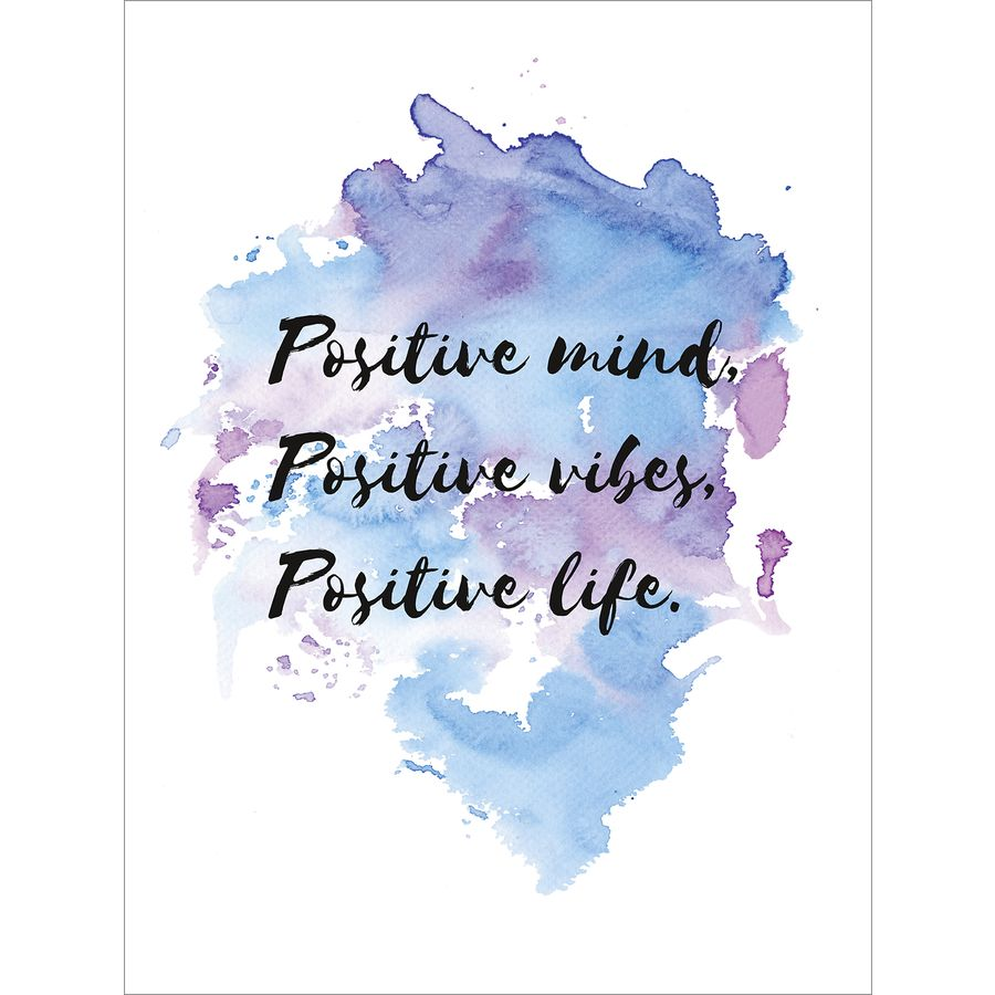 Postive Mind Positive Vibes Art Print Art Prints Buy Now In The
