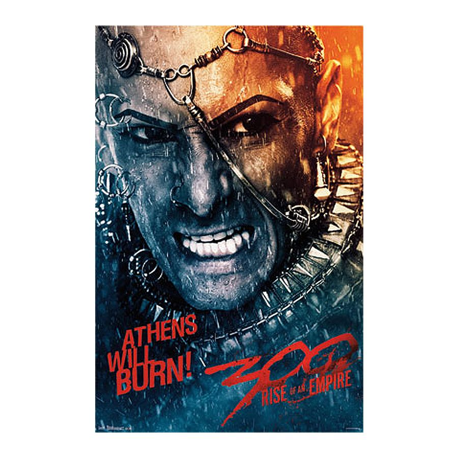 300: Rise Of An Empire Poster Athens Will Burn