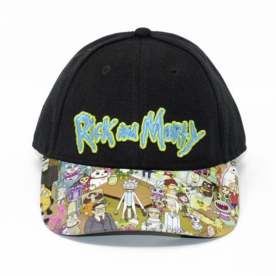Rick And Morty Baseballcap Mit Sublimationsdruck