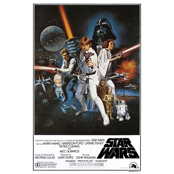 Star Wars Episode IV - A New Hope - Movie Poster