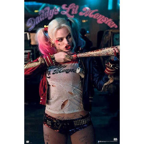 Suicide Squad Harley Poster -