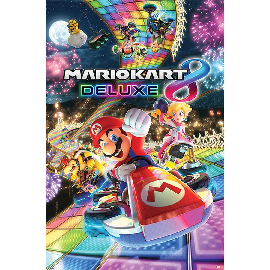 Super Mario Poster Mario Kart 8 (Deluxe)