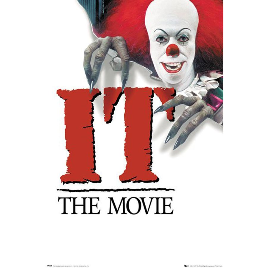 Stephen King's IT Poster The Movie (1990) - Posters buy ... |Stephen King It Movie
