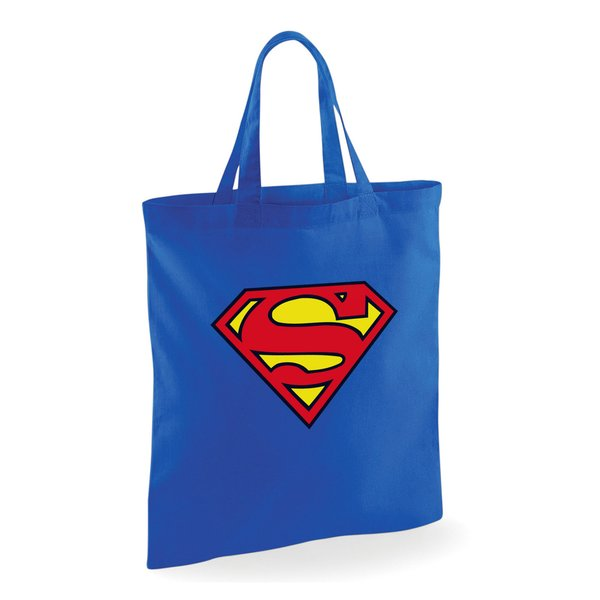 Superman Tote Bag Logo
