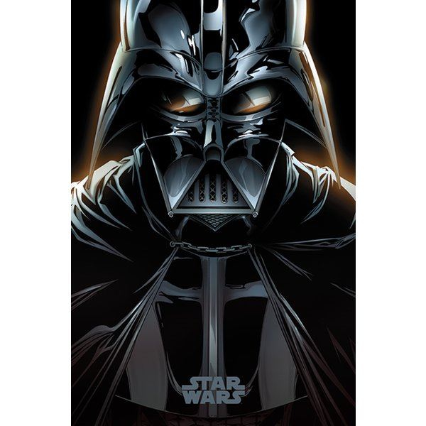 star wars poster darth vader comic posters buy now in. Black Bedroom Furniture Sets. Home Design Ideas
